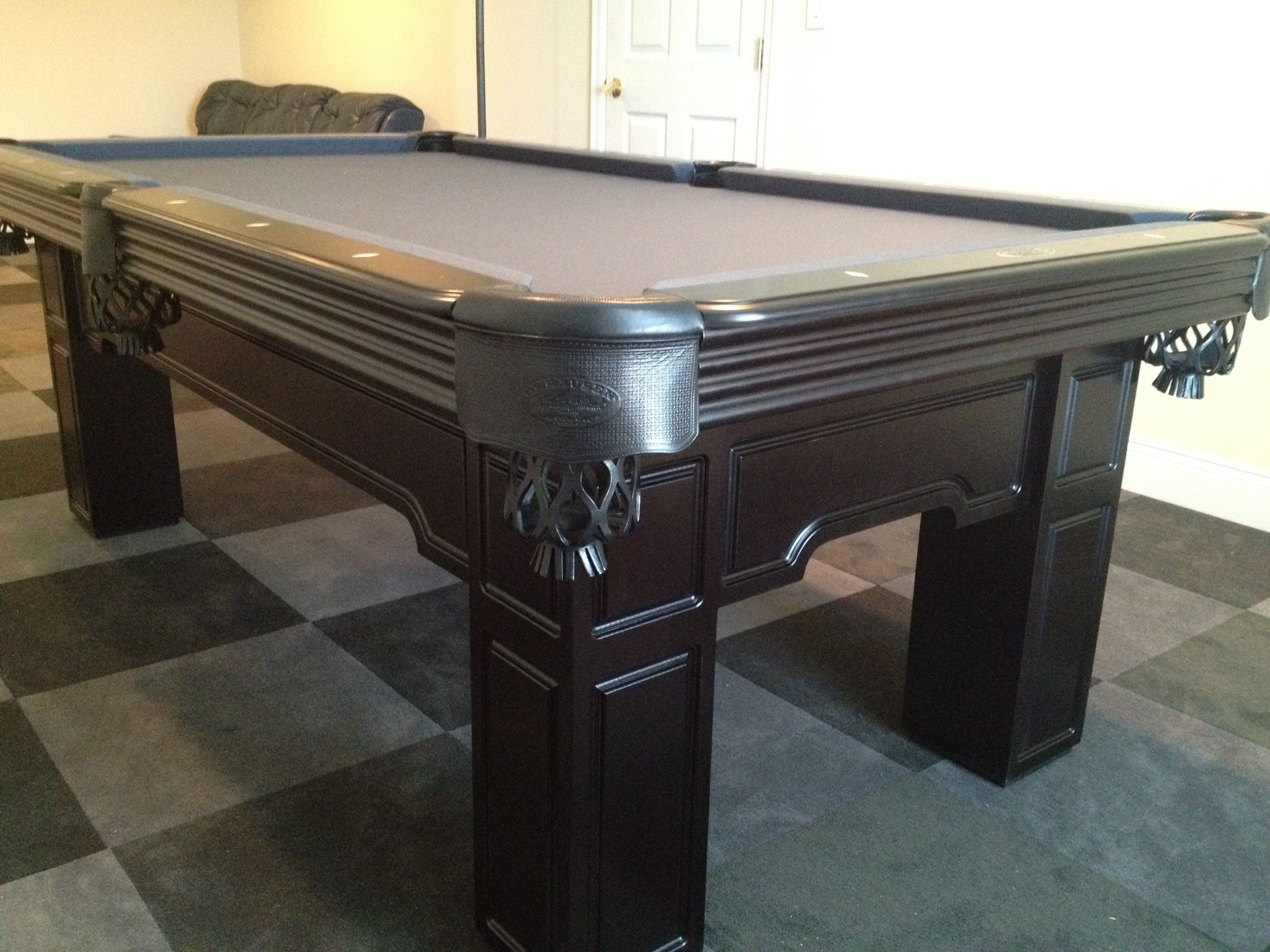Pool Table Sold At Everything Billiards Charlotte, And Installed In Waxhaw,  NC. I LOVE The Aprons This Customer Chose   Olhausen Has A Wide ...