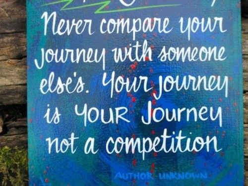 you are your greatest competition. always try to better yourself. who cares about everyone else!