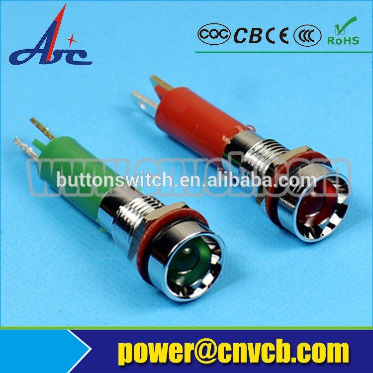 Zs13 8mm Indicator Light 3v 6v 12v 24v Illuminated Lamp Indicator Light 8mm Indicator Lights Light Alibaba