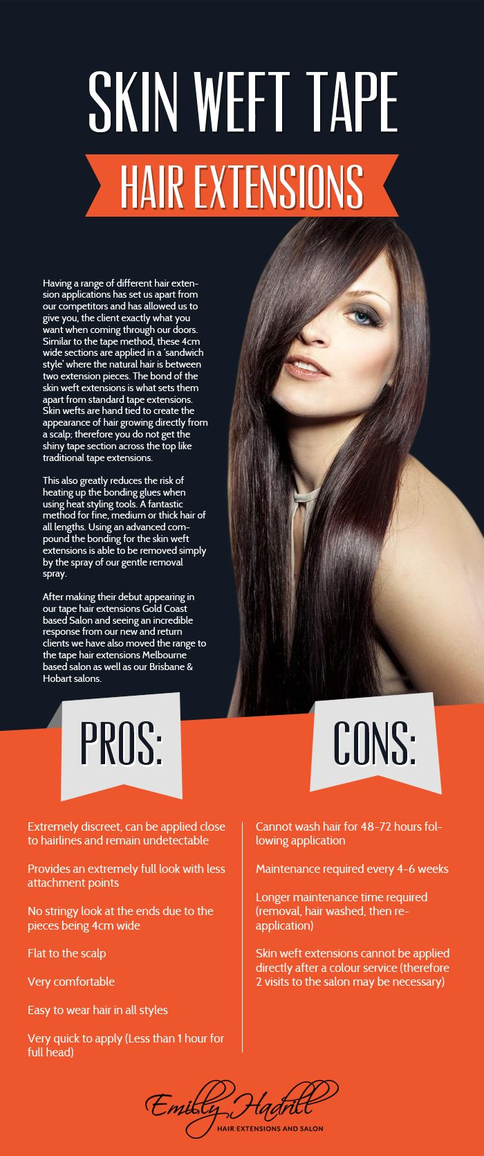 If You Want Premium Quality Skin Weft Tape Hair Extensions Then