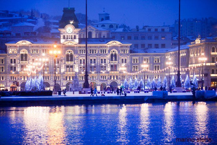 Trieste Natale Immagini.Natale A Trieste Italia I Would Love To Spend Christmas In Italy