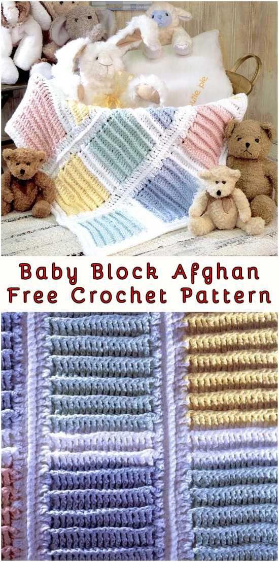 Baby Block Crochet Afghan | Pinterest | Bebé, Para bebes y Bebe
