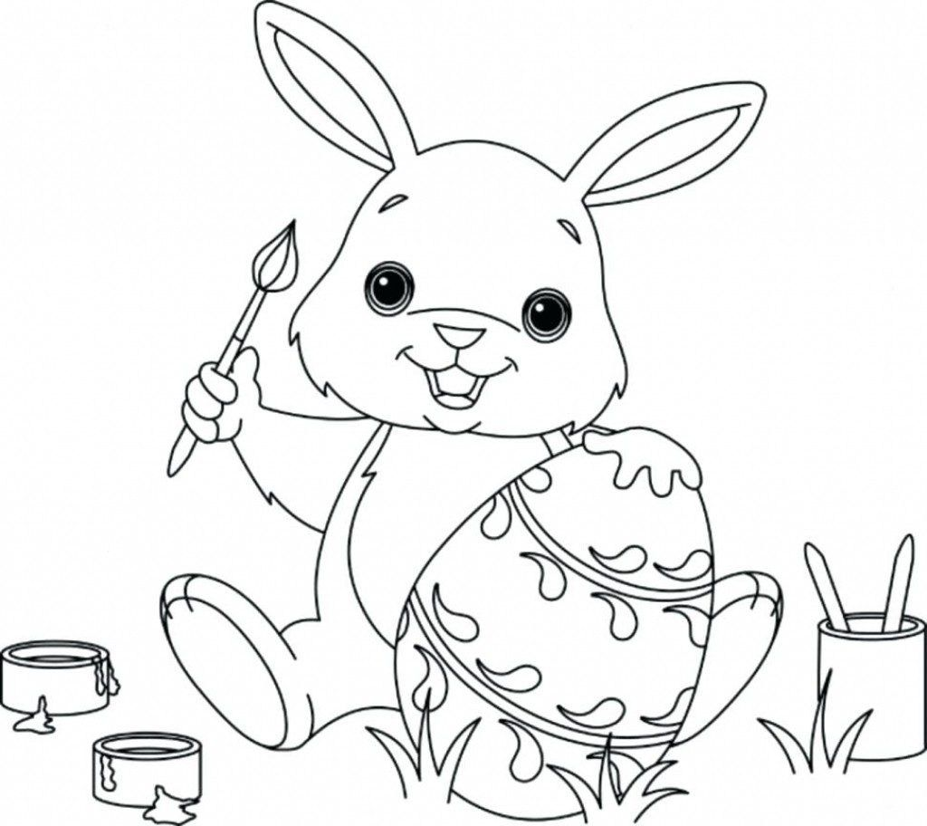 22+ Beautiful Image of Rabbit Coloring Pages (With images ...