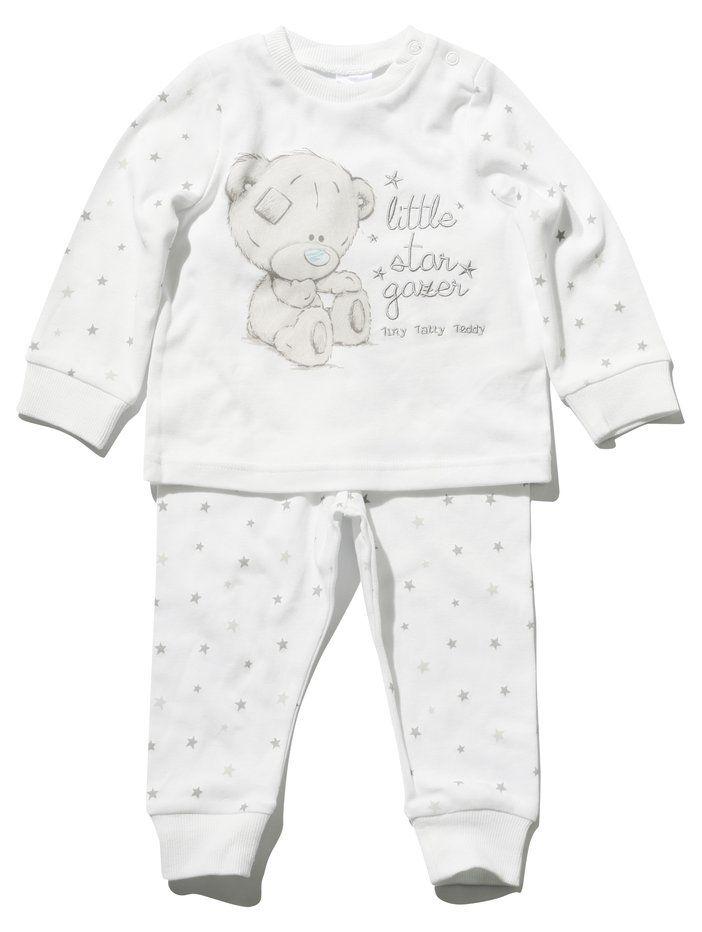 M&Co. Baby Tatty Teddy unisex pyjamas