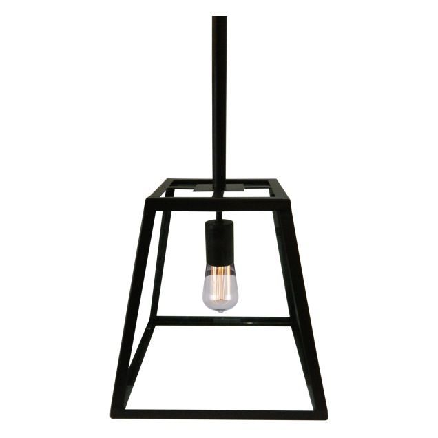 Bellis Pendant Light Product Code: KAI60LPB40BK Black powder-coated with  glass 40x40cm 30cm also