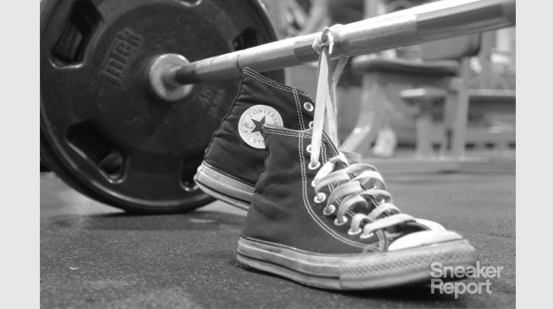 Why Powerlifters Love Chuck Taylors