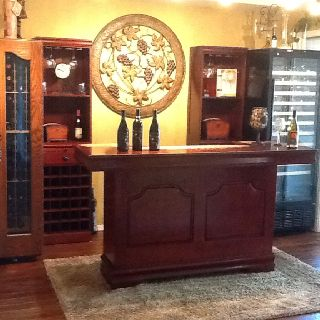 Turned Our Formal Dining Room Into A Wine Bar Gets Used