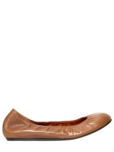 LANVIN  10MM LEATHER BALLERINA FLATS - http://lustfab.com/shop-lust/lanvin-10mm-leather-ballerina-flats-8/