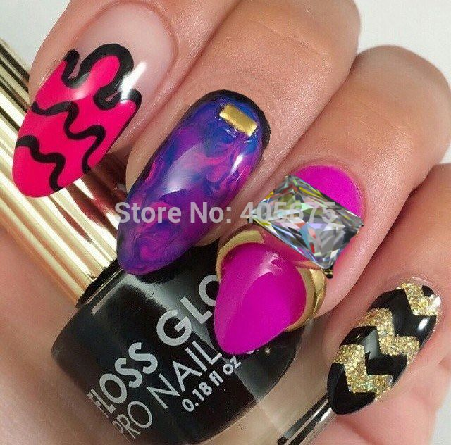 Cheap jewelry poems, Buy Quality decorative clasps jewelry directly from China jewelry novel Suppliers:  5pcs 3d diamond nail art rings glitter crystal nail decoration mariage nail jewelry