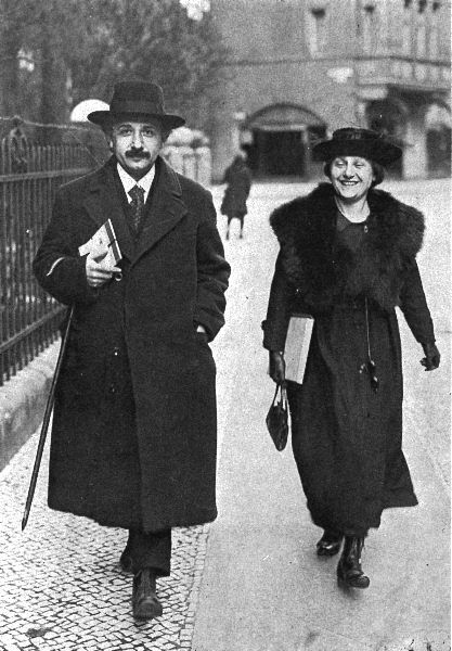 """I have firmly decided to bite the dust with a minimum of medical assistance when my time comes, and up to then to sin to my wicked heart's content."" -- Letter to Elsa Einstein, August 11, 1913; CPAE, Vol. 5, Doc. 466 