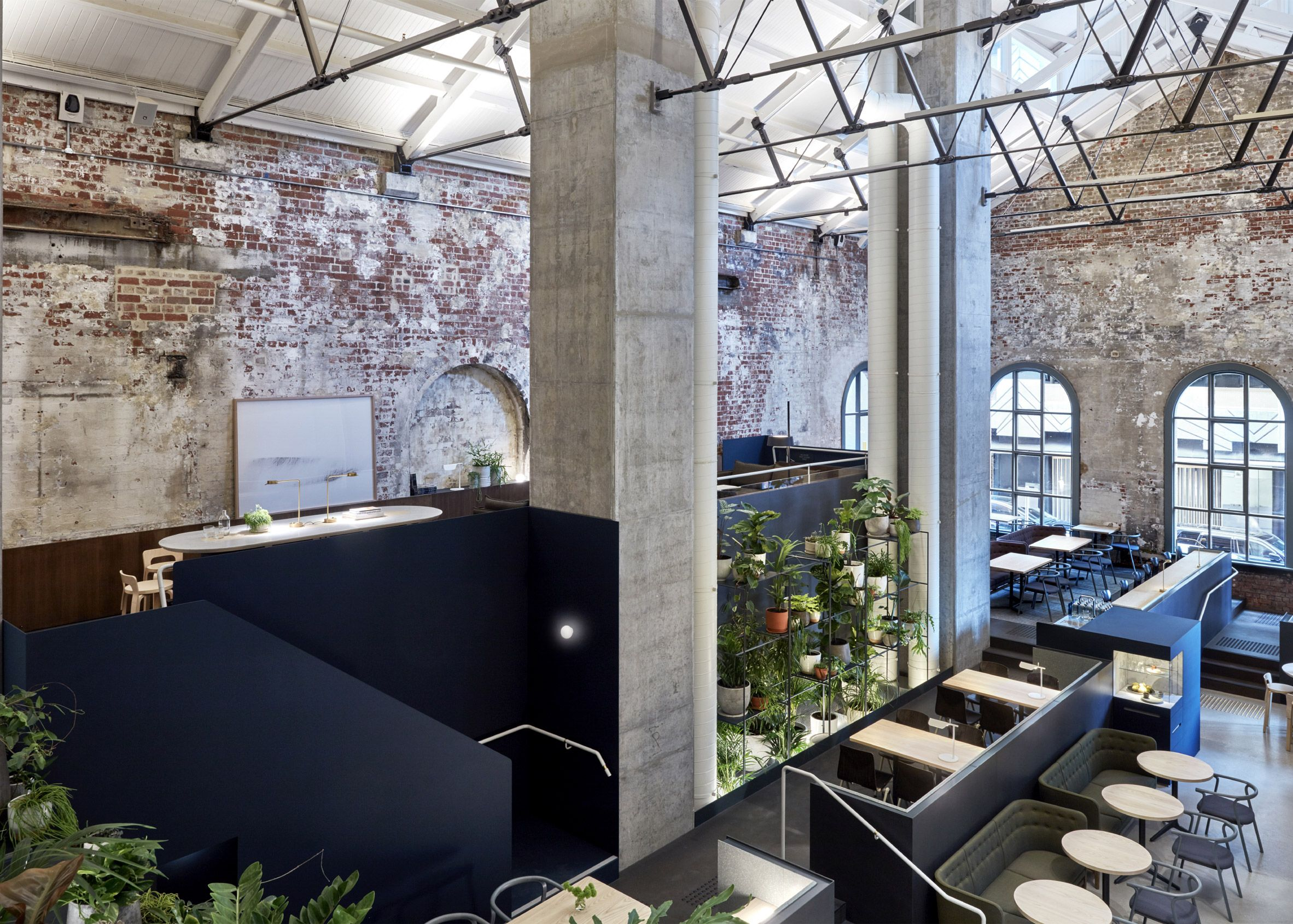design office converts disused power station into restaurant in