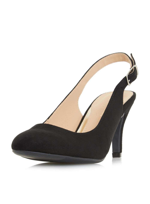 c503403768 Womens *Head Over Heels by Dune Black 'Carrla' Ladies Mid Heel Shoes ...