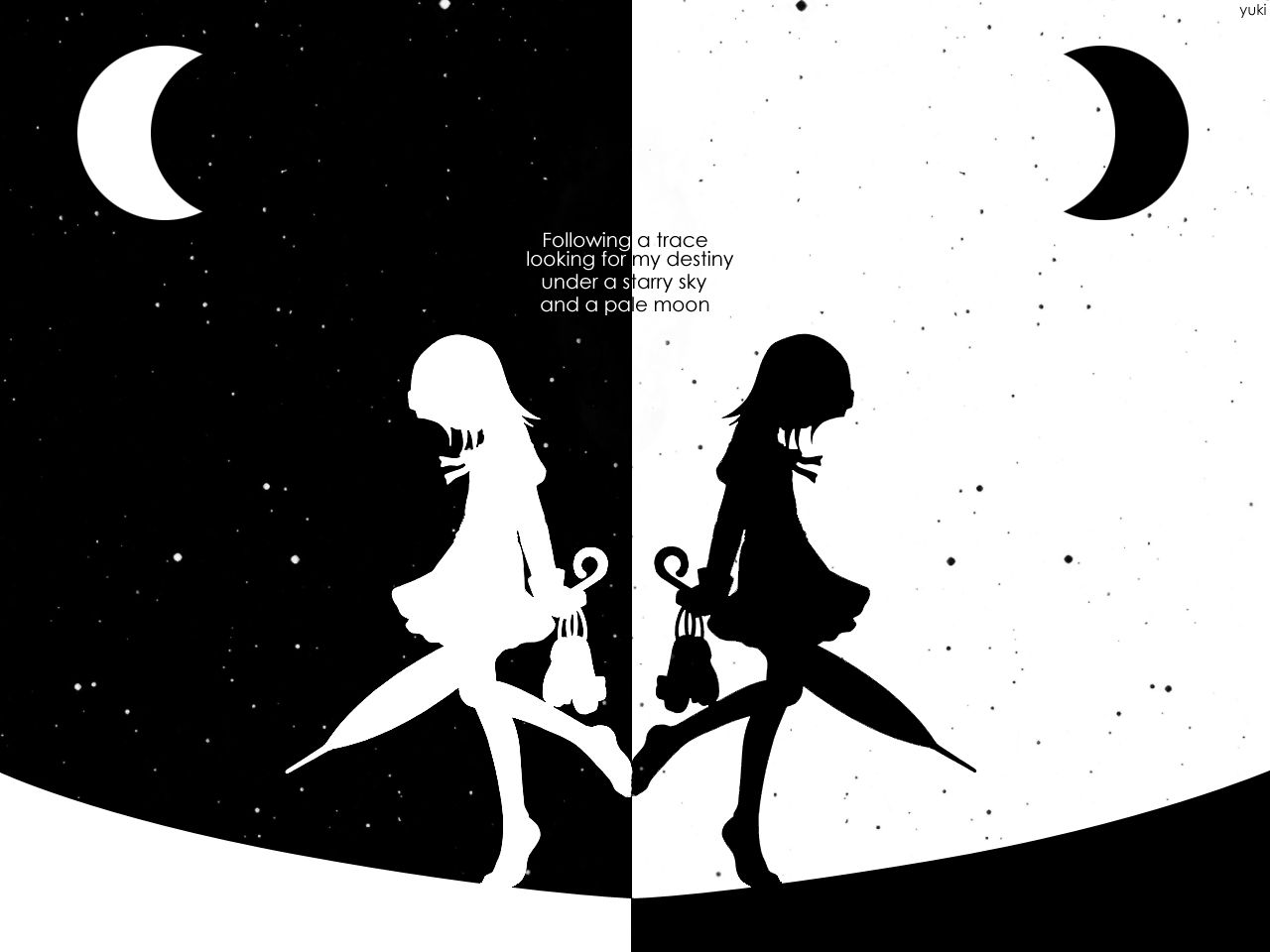 10 Top Black And White Anime Background Full Hd 1080p For Pc