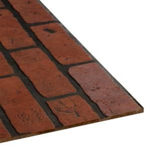 4 ft. x 8 ft. Decorative Gaslight Brick Panel103735 at