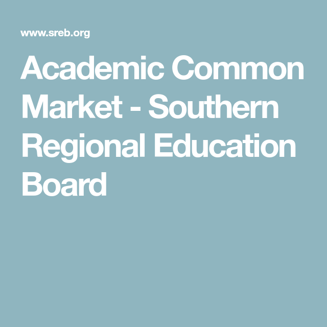 Academic Common Market Education, College application