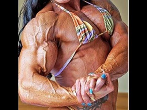 Worlds Most Massive Fbb  Inches Biceps Youtube