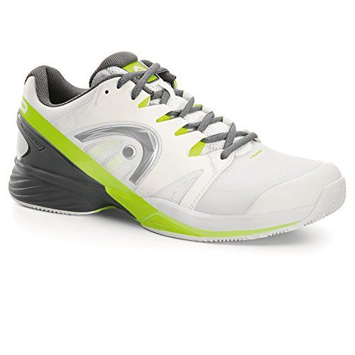 Head Nitro Pro Men's CLAY Tennis Shoe White/Neon Yellow >>> You can get more details by clicking on the image.