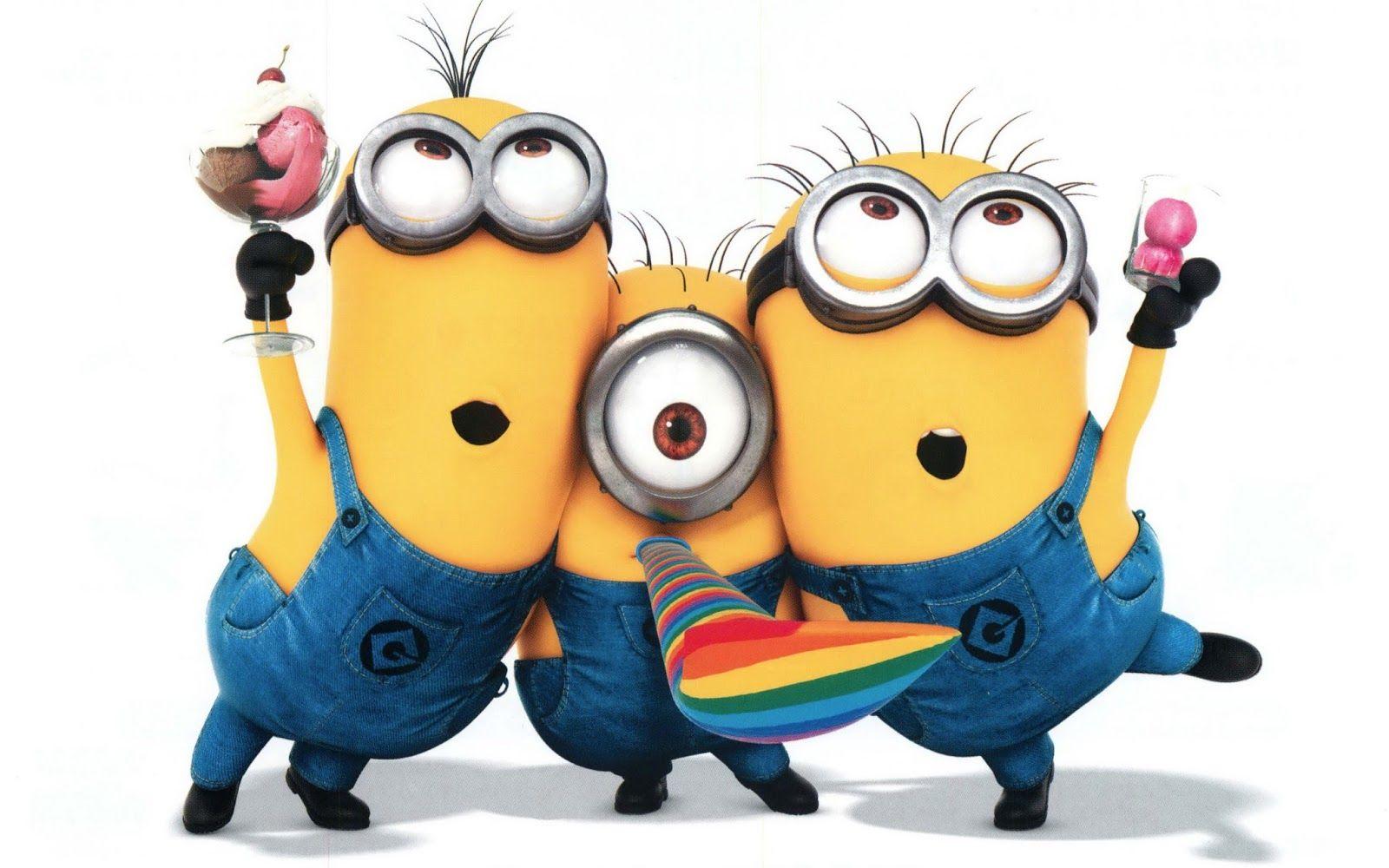 13 Mewarnai Gambar The Minions Bonikids Coloring Page Cute Minions Minions Happy Minions