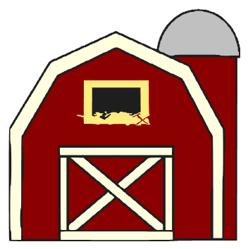 beanie's tag you're it: big red barn   svg and cricut stuff ... - Barns Coloring Pages Farm Silos