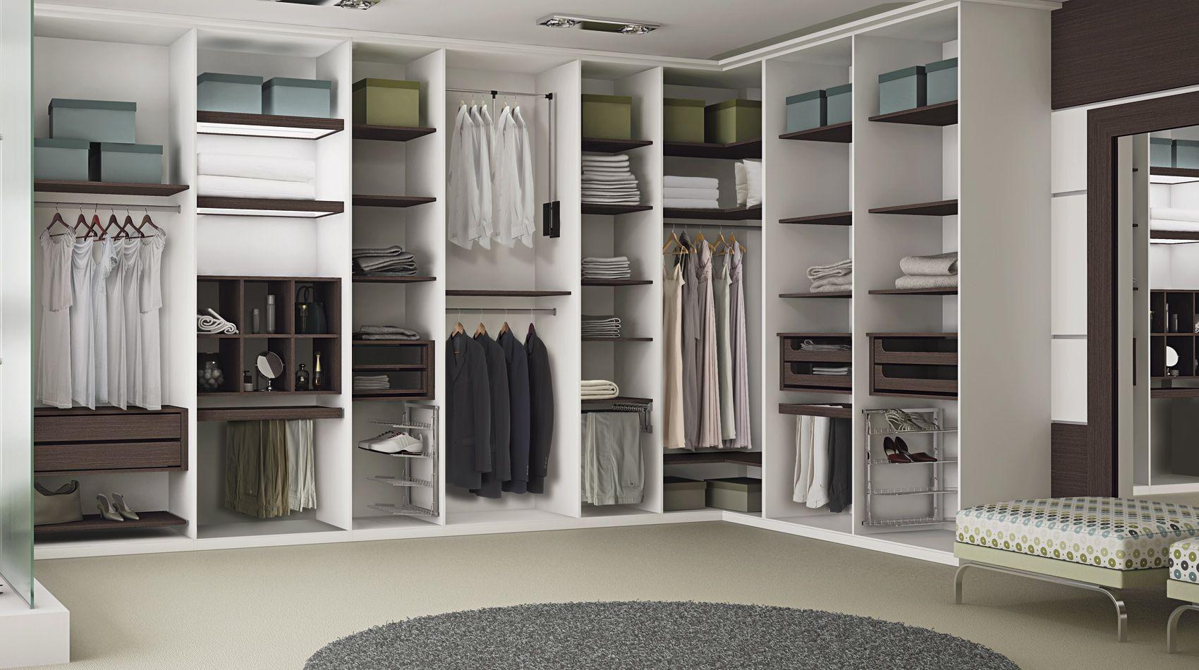 Closets Celmar M Veis Closet Pinterest M Veis ~ Tamanho Ideal Quarto Casal Closet