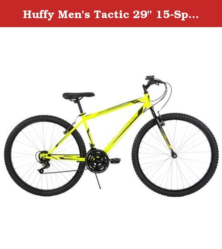 Huffy Men S Tactic 29 15 Speed Mountain Bicycle Bike Size 29