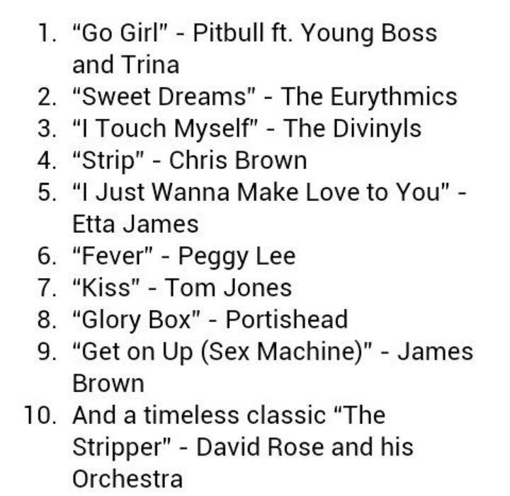 Wedding Garter Songs: Top Ten Garter Removal Songs