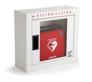 New Zoll Aed Wall Cabinet