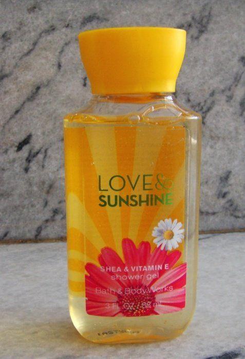 BathBodyWorks Love And Sunshine Shower Gel Review Price Bath Body WorksShower