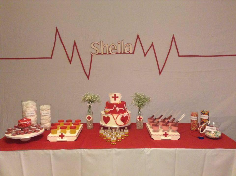 Usando a Cachola panelitos Festa de enfermagem, Formatura enfermagem y Festa de enfermeira -> Decoracao Formatura Enfermagem