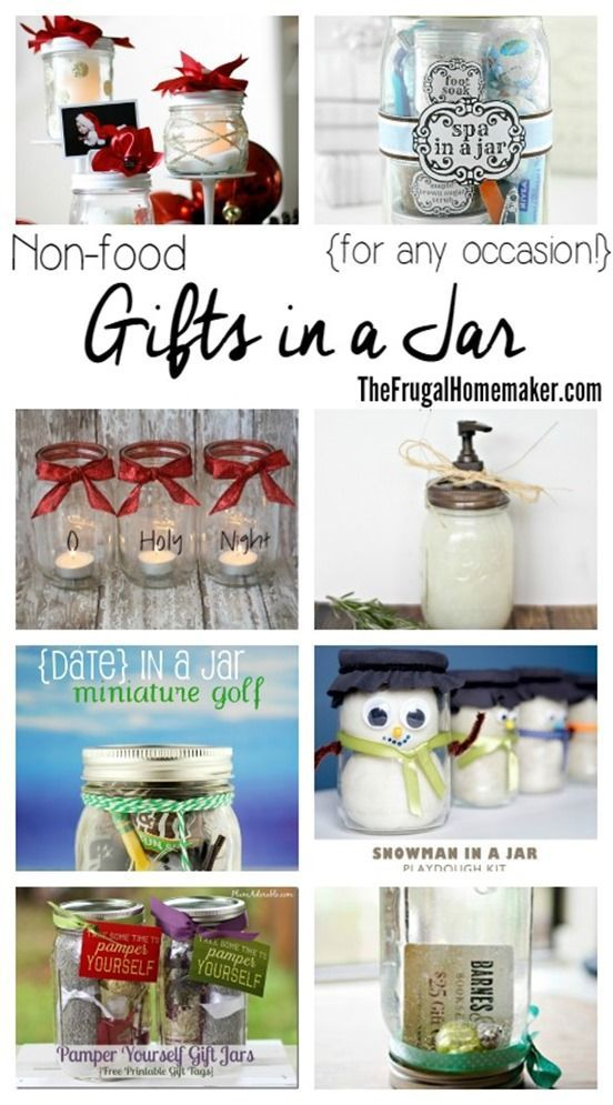 Non Food Gifts In A Jar For Any Occasion Day 7 Of 31 Days To Take The Stress Out Of Christmas Diy Gifts In A Jar Mason Jar Christmas Gifts Jar Gifts