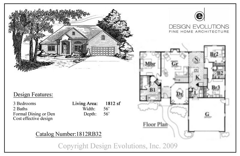 Kalamazoo House Plans, residential home designs, also serving South ...