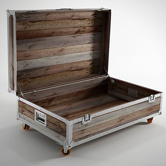 ROADIE – Coffee Table Trunk by Karpenter (US$430.00). we ...
