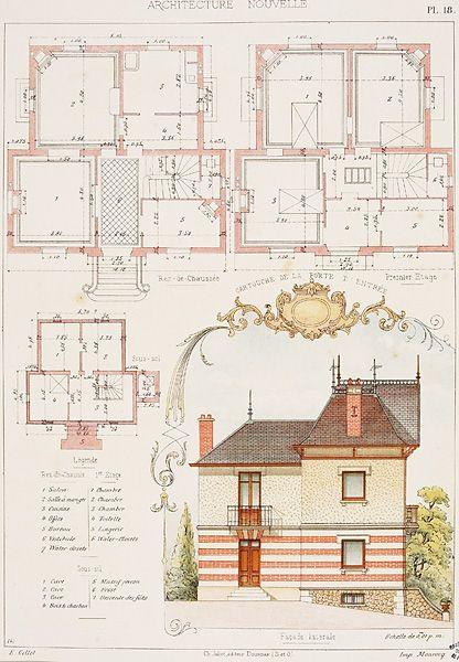 Propriete De M R De La Briche Building A House Architecture Postcard