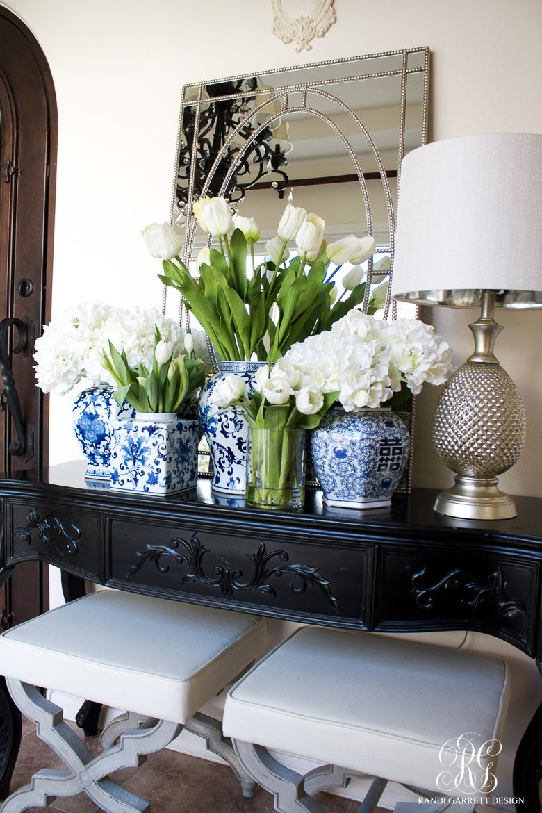 Spring Decorating With Fresh And Faux Flowers Faux Flowers