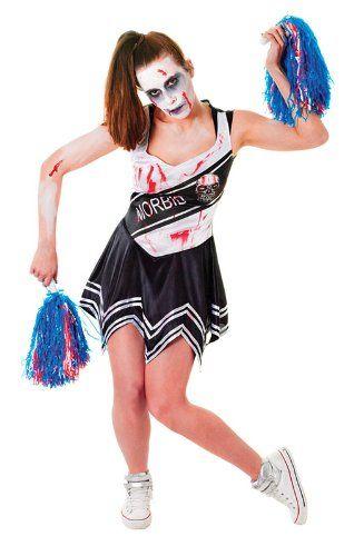 Black ladies zombie cheerleader costume bristol novelty httpwww black ladies zombie cheerleader costume bristol novelty httpamazon solutioingenieria Gallery