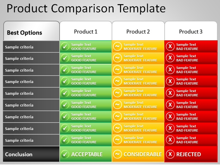 Comparison Chart Templates For Word Powerpoint Pdf Excel Templates Business Template Chart