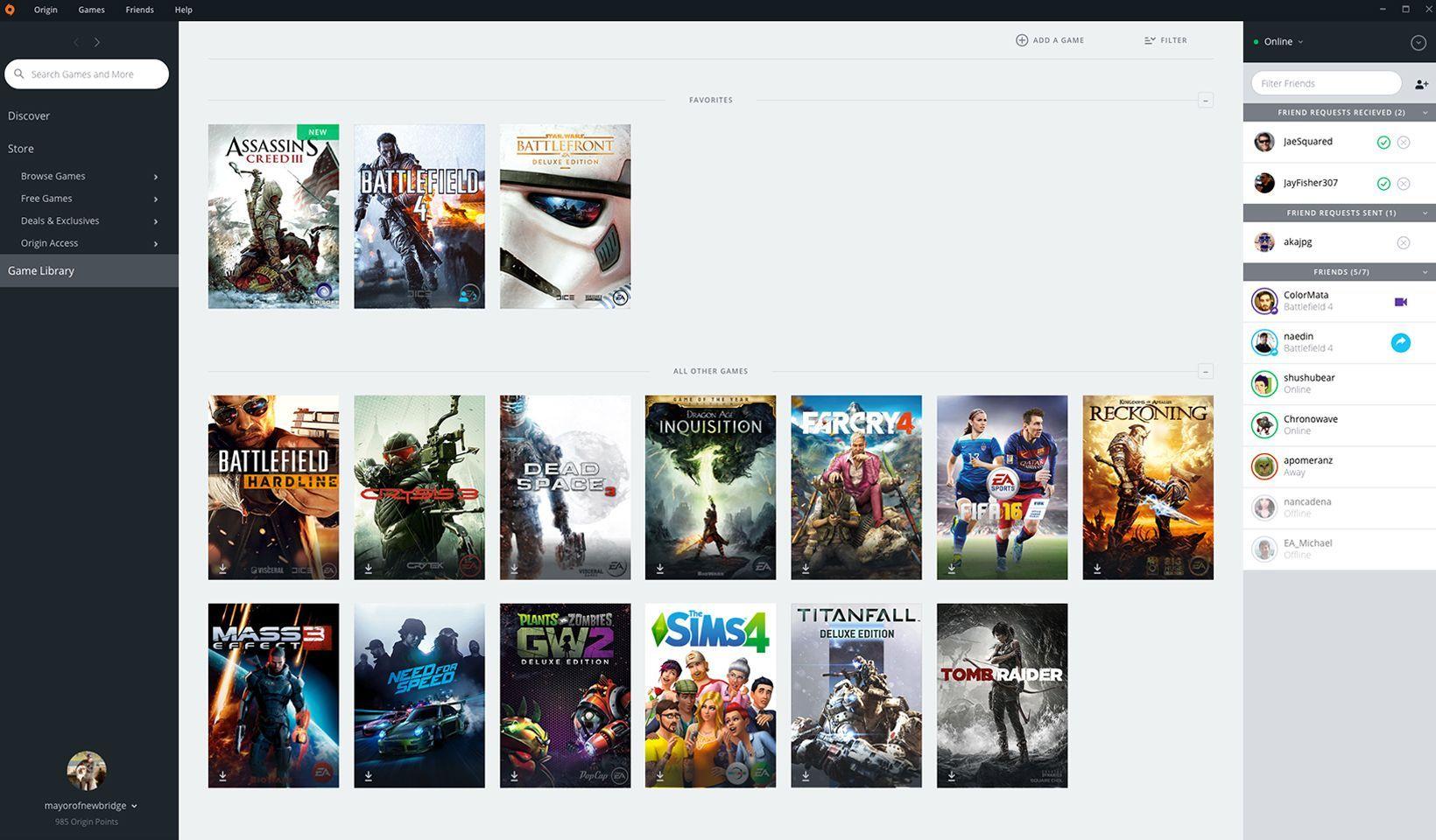 Origin 10 5 90 45798 Program Indirme Sitesi Oyun Oyunlar Platform