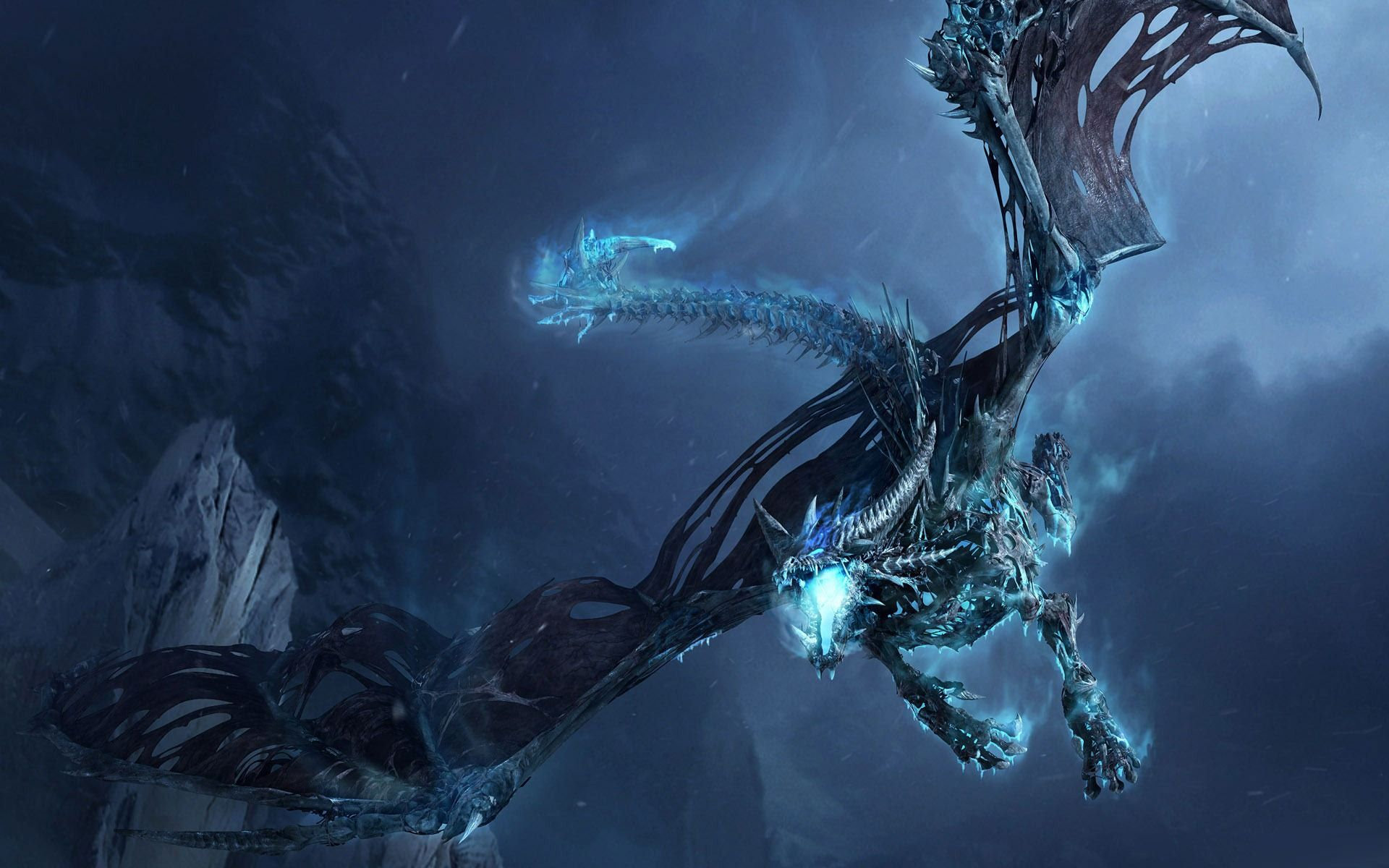 3d Dragon Wallpaper World Of Warcraft Wallpaper Ice Dragon
