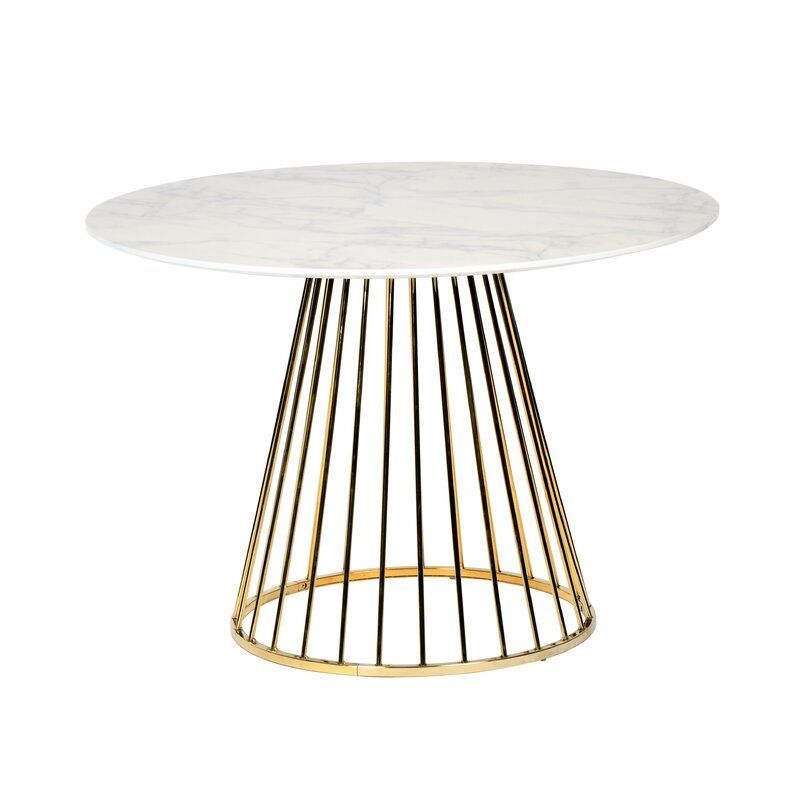 45 Round Table In 2020 Dining Table Pedestal Dining Table