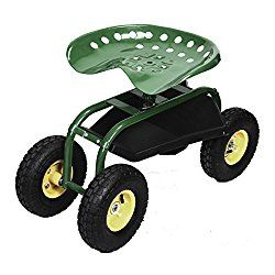 Best Rolling Garden Seats With Big Wheels Reviews And