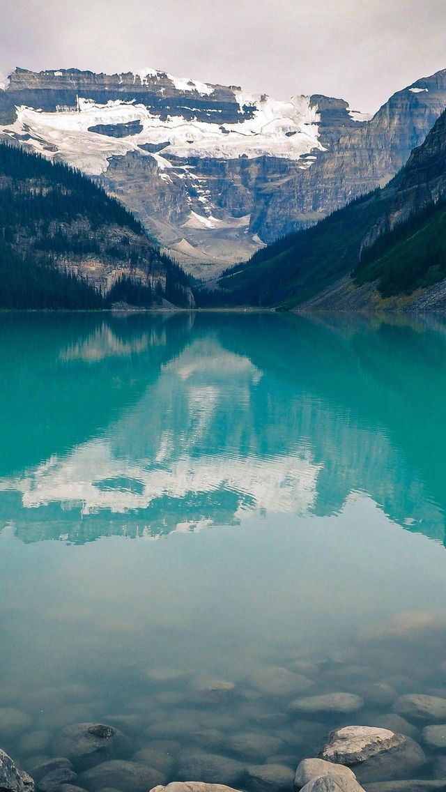 Lake Louise Canada #iPhone #5s #Wallpaper