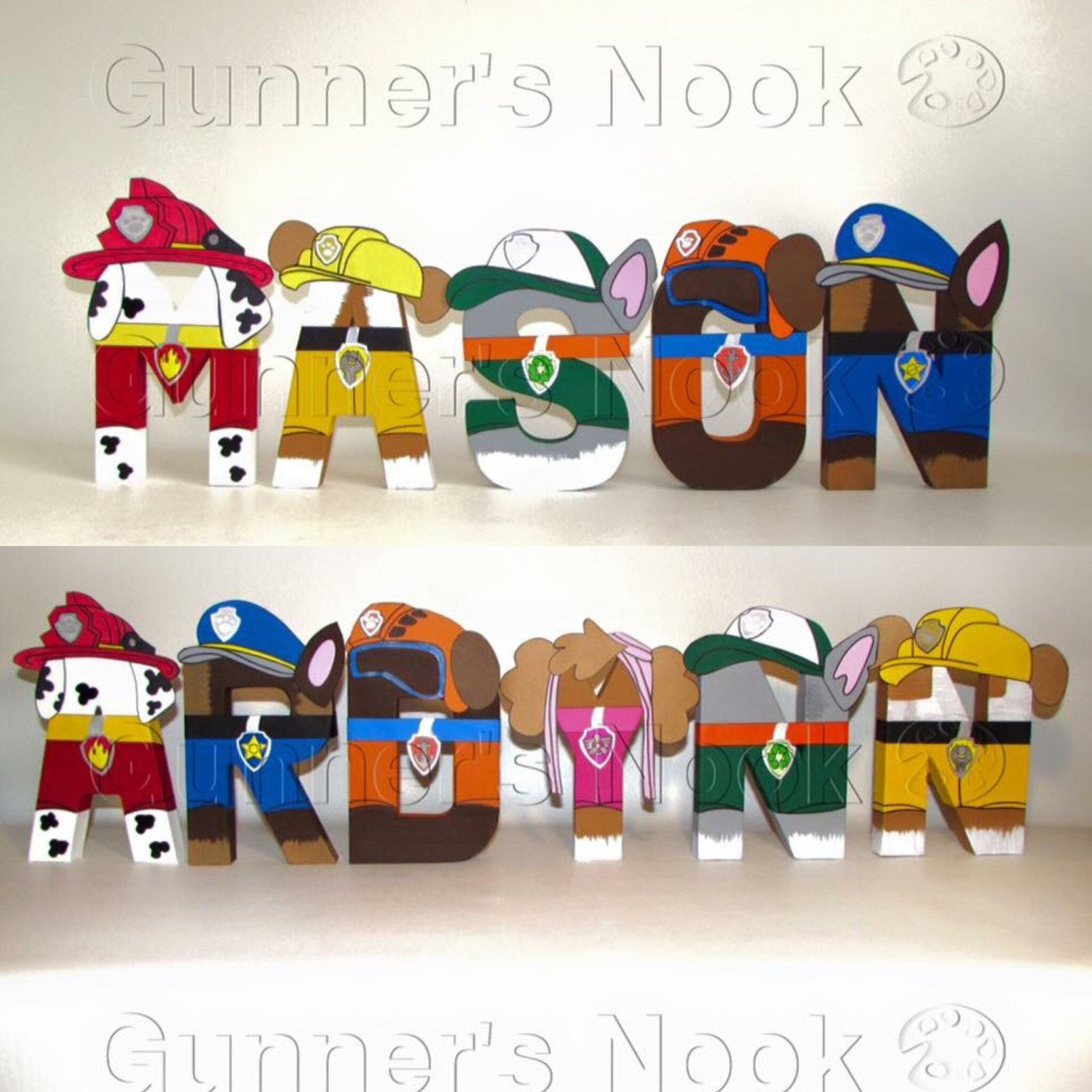 30 Off Sale Paw Patrol Letters Price Per Letter By