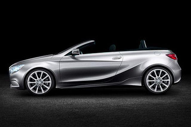 New Mercedes Benz Convertible