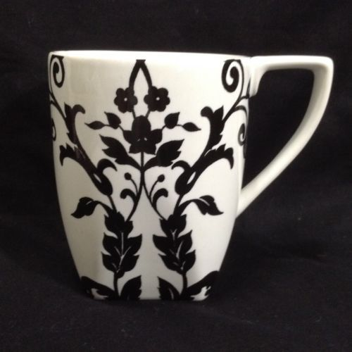 eab68ecdf30 Coventry Antoinette Black White Fine China Porcelain Mug | Friends ...