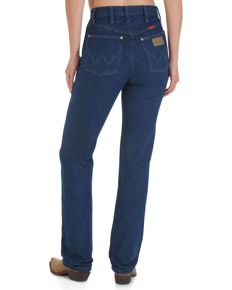c6d1cafe014 Wrangler Women s Cowboy Cut Slim Fit Jeans