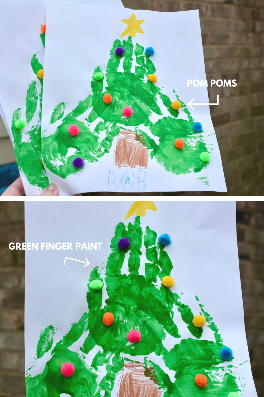 Super Easy Christmas Tree Craft Diy Crafts For The Holiday Tree In 2020 Diy Christmas Tree Toddler Christmas Tree Christmas Tree Crafts Diy