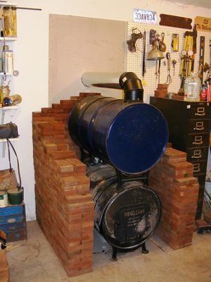 Assembly W Heatshield Barrel Wood Burner My Research