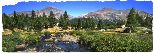 Yosemite Tuolumne Meadows guided backpacking tours starting at $950/person with Just Roughin' It.