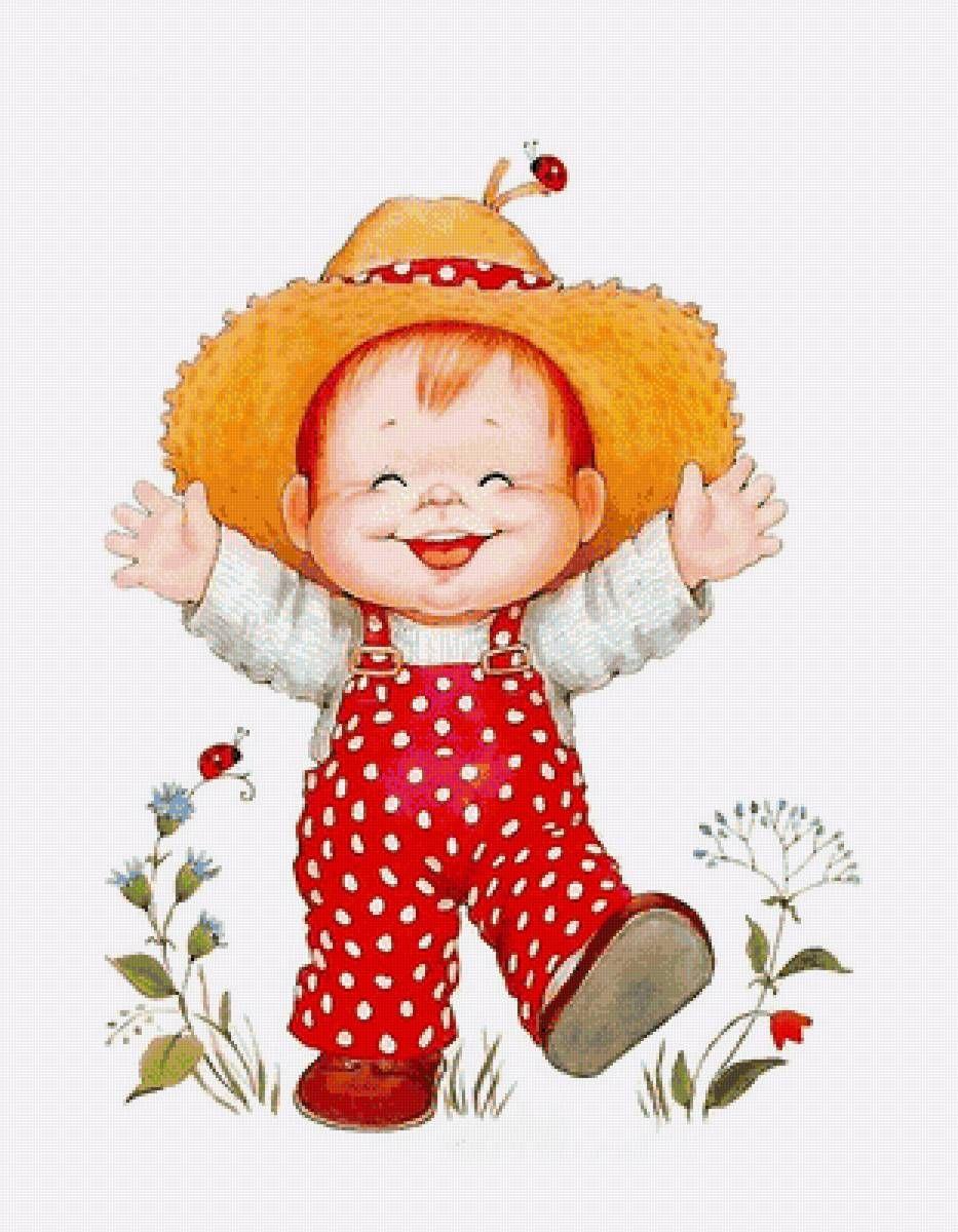 Смешной рисунок маленького ребенка, день медика рисунок