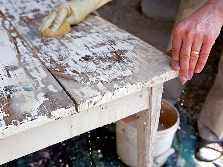 Comment décaper un meuble recette Pinterest DIY, Home Decor et - Peindre Meuble En Chene Vernis